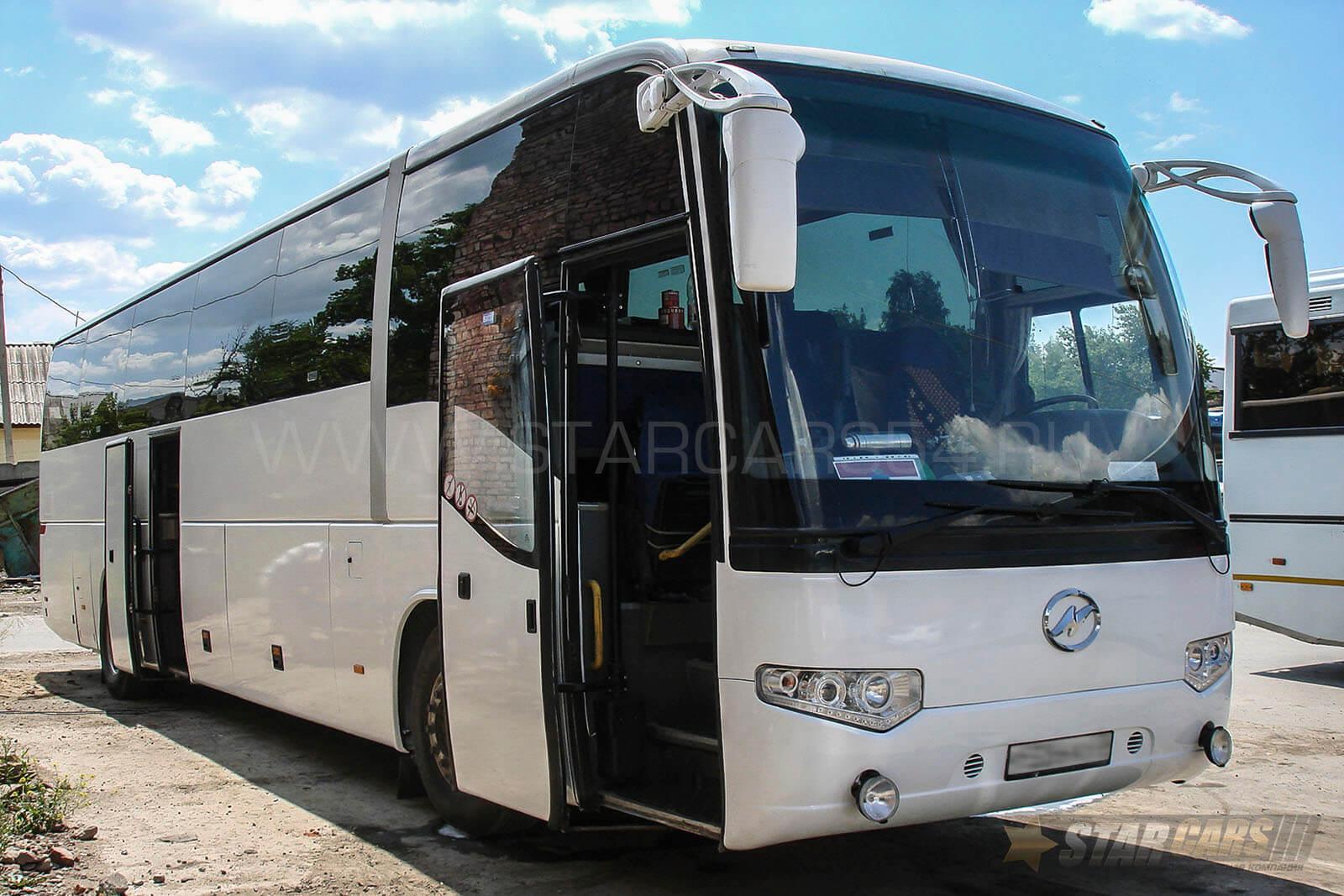 Аренда автобуса Higer (49 мест) в Новосибирске: ? заказ автобусов с водителем — StarCars54.ru