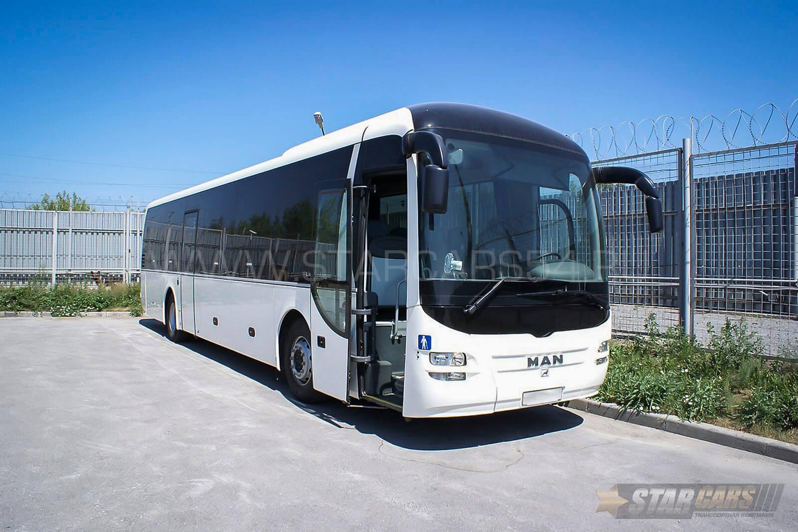 Аренда автобуса MAN Lion