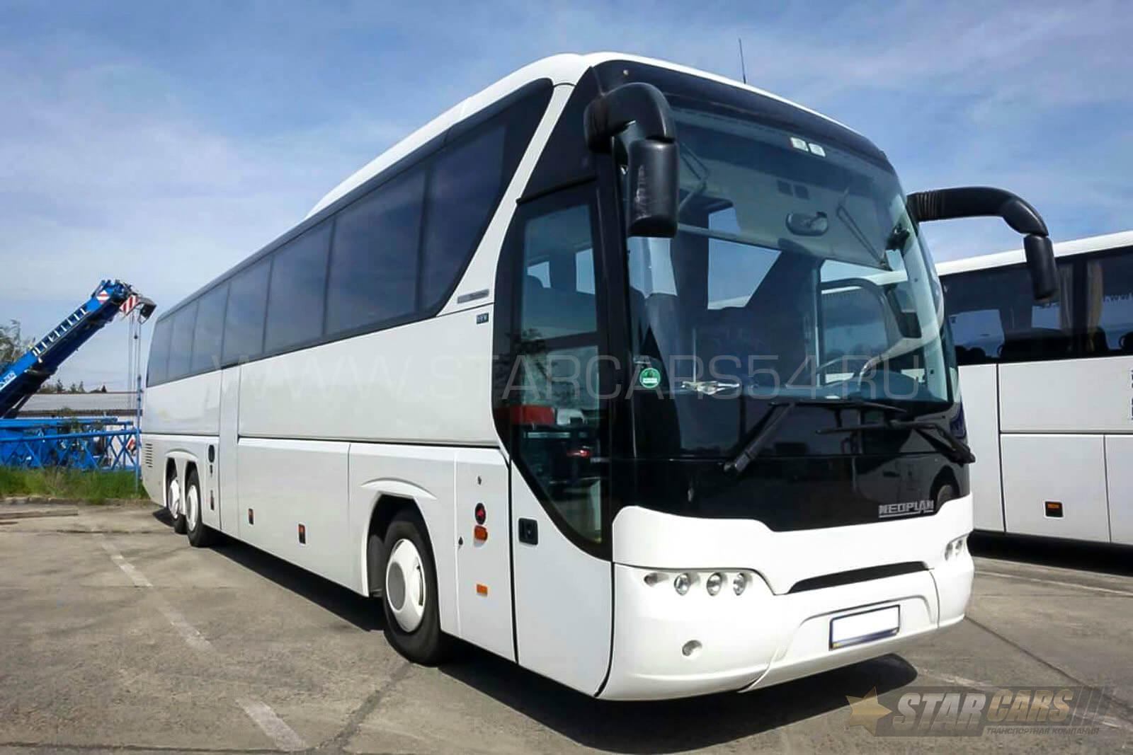 Аренда автобуса Neoplan Tourliner (50 мест) в Новосибирске: ? заказ автобусов с водителем — StarCars54.ru