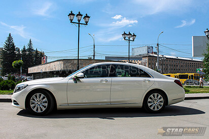 Аренда ВИП-авто Mercedes-Benz S-class w222 Long с водителем